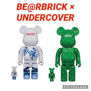 アンダーカバー(UNDERCOVER)のBE@RBRICK × UNDERCOVER 2つセット(その他)