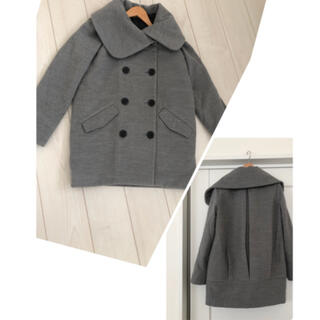 イング(INGNI)のイング おっきな襟のPコート(ピーコート)