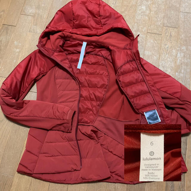 lululemon(ルルレモン)のルルレモン ショッピングバック付き 薄手ダウンジャケット レディースのジャケット/アウター(ダウンジャケット)の商品写真
