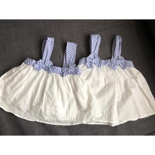 プティマイン(petit main)のプティマイン 姉妹セット 80 100(Tシャツ/カットソー)