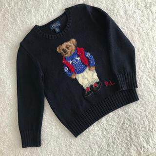 POLO RALPH LAUREN - 【定価約27,000円】ラルフローレン ポロベア セーター 4T 4歳