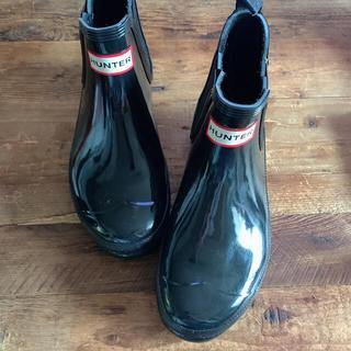 ハンター(HUNTER)のHUNTER ハンター ショートブーツ オリジナルグロスチェルシー(レインブーツ/長靴)