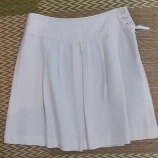 プーラフリーム(pour la frime)の白 スカート(ひざ丈スカート)