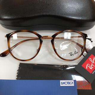 レイバン(Ray-Ban)のレイバン サングラス メガネ RX7140 5687 フレーム 正規品 新品(サングラス/メガネ)