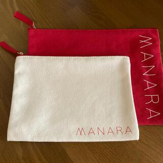 マナラ(maNara)のマナラ ポーチ 2種類(ポーチ)