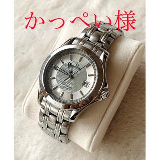 オメガ(OMEGA)の美品!メンズ オメガ シーマスター120 電池交換済(腕時計(アナログ))
