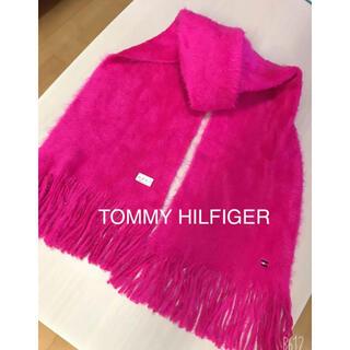 トミーヒルフィガー(TOMMY HILFIGER)のTOMMY HILFIGER❤︎ふわふわピンクマフラー 新品(マフラー/ショール)
