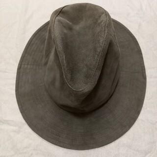 ワンエルディーケーセレクト(1LDK SELECT)のKIJIMA TAKAYUKI キジマタカユキ スエード ハット 帽子(ハット)