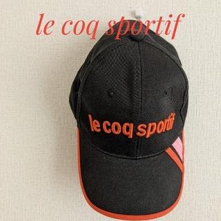 ルコックスポルティフ(le coq sportif)のルコックスポルティフ キャップ ゴルフ レディース(キャップ)