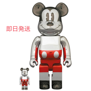 メディコムトイ(MEDICOM TOY)のBE@RBRICK FUTURE MICKEY 100% & 400%(その他)