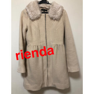 リエンダ(rienda)のrienda コート(その他)