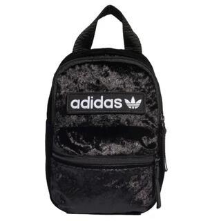 adidas - *未使用* adidas ベロアミニリュック ブラック
