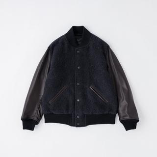 コモリ(COMOLI)のcomoli award jacket navy アワードジャケット 20AW(スタジャン)