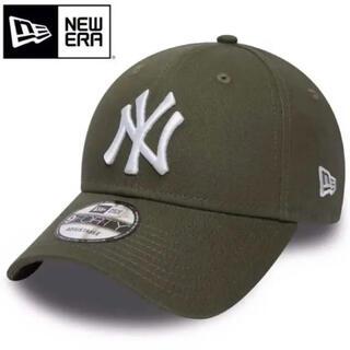 ニューエラー(NEW ERA)のニューエラ キャップ NY ヤンキース 緑 カーキ グリーン オリーブ(キャップ)