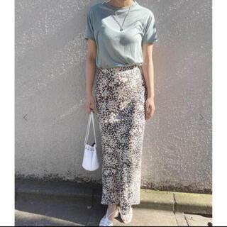エディットフォールル(EDIT.FOR LULU)のエディットフォールル 34 バイアス花柄スカート(ロングスカート)