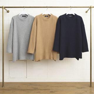 アンユーズド(UNUSED)のUNUSED 5G crew neck knit sweater 1ldk(ニット/セーター)