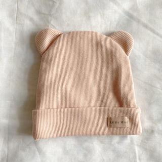 ザラキッズ(ZARA KIDS)のZARA ザラ ベビー リブ編み 帽子 (帽子)