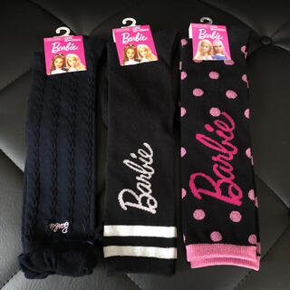 バービー(Barbie)のBarbie 靴下 ハイソックス 19〜24cm 3セット(靴下/タイツ)