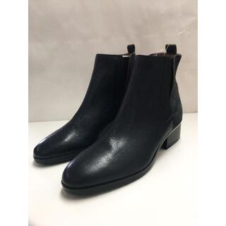 イング(ing)の新品 ing ショート ブーツ 本革 サイドゴア 23EE(ブーツ)