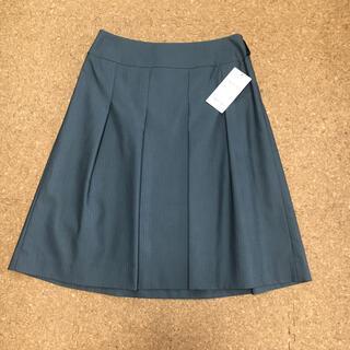 インディヴィ(INDIVI)のINDIVI  膝丈スカート 新品 サイズ40(ひざ丈スカート)