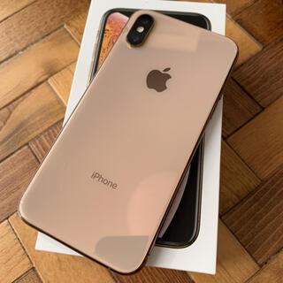 NTTdocomo - iPhoneXs  64GB  ゴールド  docomo