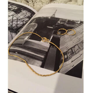 ME AND HER/soft gold choker(ネックレス)