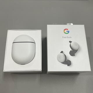 Google Pixel Buds Clearly White(ヘッドフォン/イヤフォン)