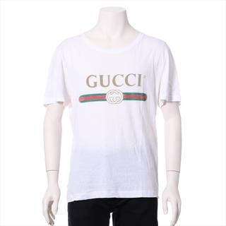 グッチ(Gucci)のグッチ  コットン S ホワイト メンズ その他トップス(その他)