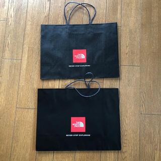 ザノースフェイス(THE NORTH FACE)のノースフェイス  紙袋 2枚(ショップ袋)