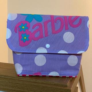 Barbie - バービー おむつポーチ ビンテージシーツ ハンドメイド
