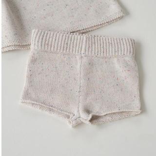 Caramel baby&child  - 新品 millk sprinkle knit ニットショートパンツ 2y