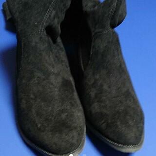 スコットクラブ(SCOT CLUB)のお値下げ❗新品未使用 スコットクラブ系列のロングブーツ 黒(ブーツ)