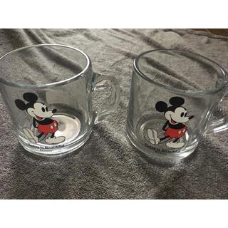 ロンハーマン(Ron Herman)の完売!ロンハーマン 10周年 ディズニーコラボ グラスマグ(グラス/カップ)