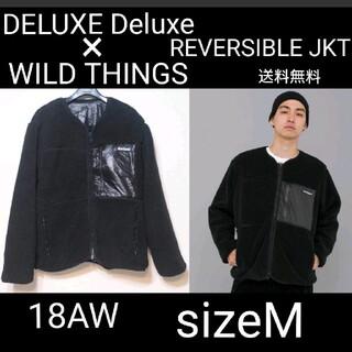 デラックス(DELUXE)のデラックス × ワイルドシングス 18AW ノーカラージャケット M SK(その他)