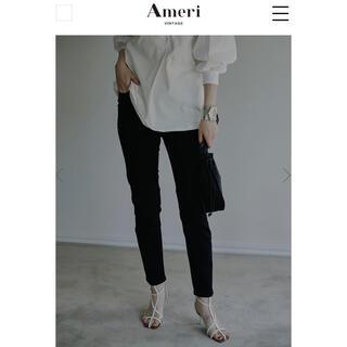 Ameri VINTAGE - Ameri VINTAGE  BLACK SKINNY PANTS 25