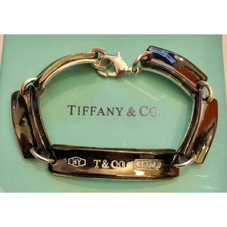 Tiffany & Co. - ティファニー ユニセックス ブレスレット バングル チタン シルバー ガンメタ