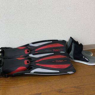 ツサ(TUSA)のTUSA ダイビングフィン & ダイビングブーツ(マリン/スイミング)