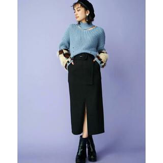 ムルーア(MURUA)のハイウエストペンシルスカート(ひざ丈スカート)