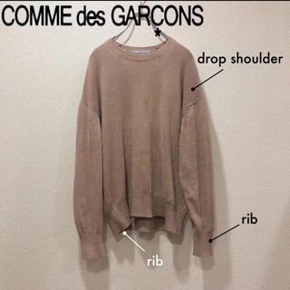 コムデギャルソン(COMME des GARCONS)のCommeDesGarçonsHomme Salmon beige Knit(ニット/セーター)