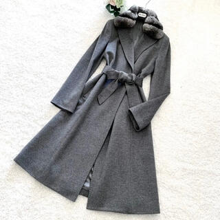 ANAYI - 極綺麗‼️ANAYI アナイ カシミヤ100% チンチラ襟コート マックスマーラ