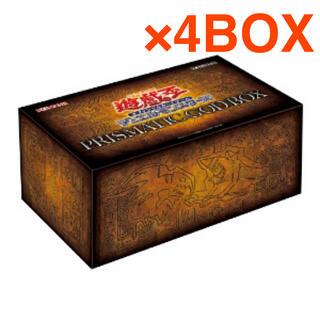 KONAMI - 遊戯王 プリズマティックゴッドボックス 4箱