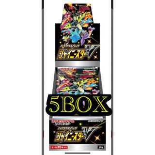 ポケモン(ポケモン)のポケモンカードゲーム ソード&シールシャイニースターVBOX(Box/デッキ/パック)