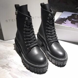 ステラマッカートニー(Stella McCartney)の大人気☆Stella Mccartney 革靴 シューズ 厚底  24.5cm(ブーツ)
