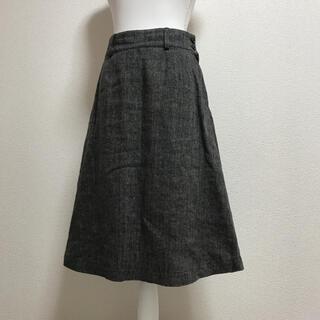 マーガレットハウエル(MARGARET HOWELL)のマーガレットハウエル  ツイード Aライン フレアスカート(ひざ丈スカート)