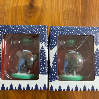 ディーゼル(DIESEL)のDIESEL   クリスマスツリーオーナメント2個セット(モビール)