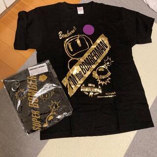 コナミ(KONAMI)のボンバーマン Tシャツ タオル 非売品(Tシャツ/カットソー(半袖/袖なし))