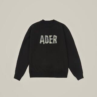 アクネ(ACNE)のADER スウェット  A2  ブラック(スウェット)