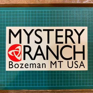 ミステリーランチ(MYSTERY RANCH)のミステリーランチ 非売品ステッカー(登山用品)