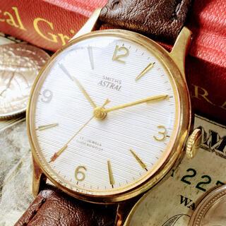 スミス(SMITH)の#977【秒針の矢印が可愛い】スミス メンズ 腕時計 動作良好 機械式 手巻 (腕時計(アナログ))