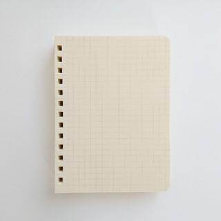 スミス(SMITH)のロルバーン Mサイズ 方眼ノート 透明ポケット カスタム レフィル(ノート/メモ帳/ふせん)